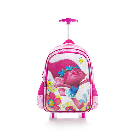 DreamWorks Travel Luggage with Straps - Trolls (DW-WCBP-TR01-16FA)
