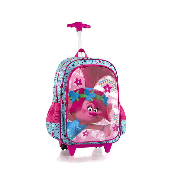 DreamWorks Travel Luggage with Straps Trolls - (DW-WCBP-TR06-18AR)