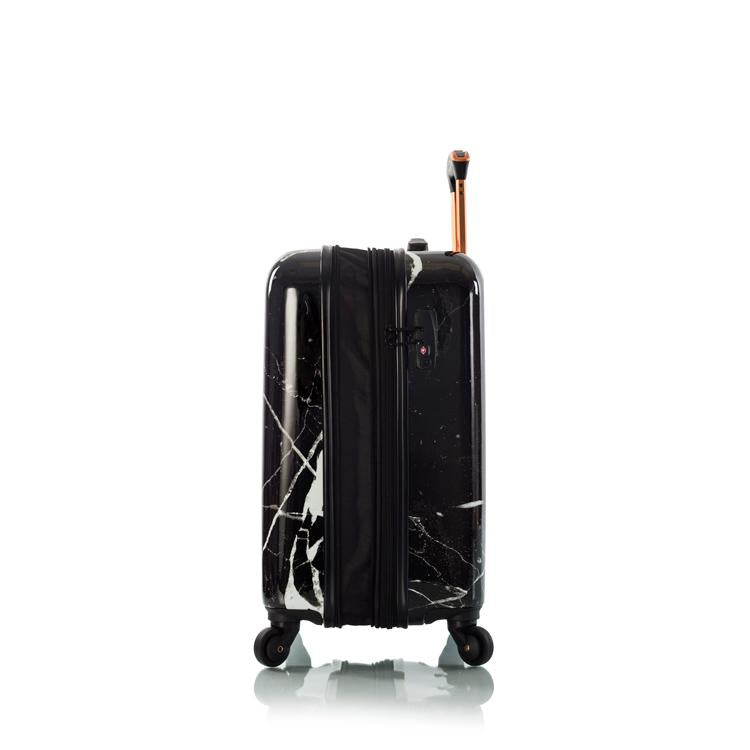 "Dakara - Black Marble 21"" Fashion Spinner™ Carry-on"