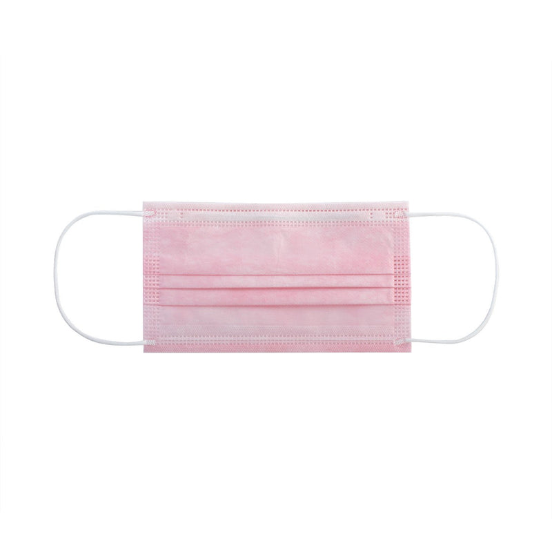 Disposable Face Masks (10 Boxes / 50 pcs. per box) - Pink Bundle