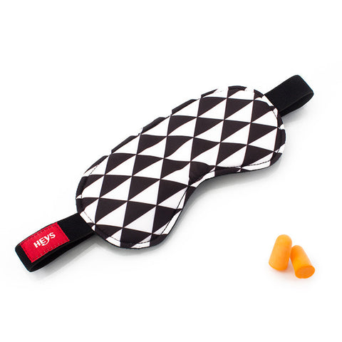 Triangles Eyeshade & Ear Plug Set