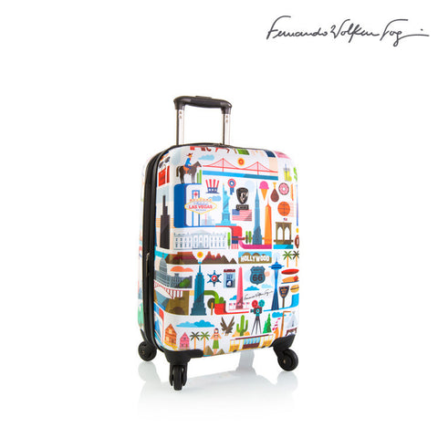 "Fernando by Heys - FVT - 21"" USA White"