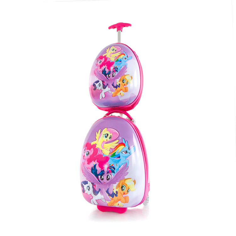 My Little Pony Kids Backpack and Luggage Set - (H-HSRL-ES-ST-MP01-18AR)