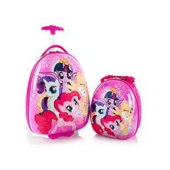 My Little Pony Kids Backpack and Luggage Set - (H-HSRL-ES-ST-MP04-16FA)