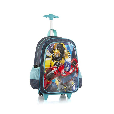 Transformers Travel Luggage with Straps - (H-WCBP-TF04-18AR)