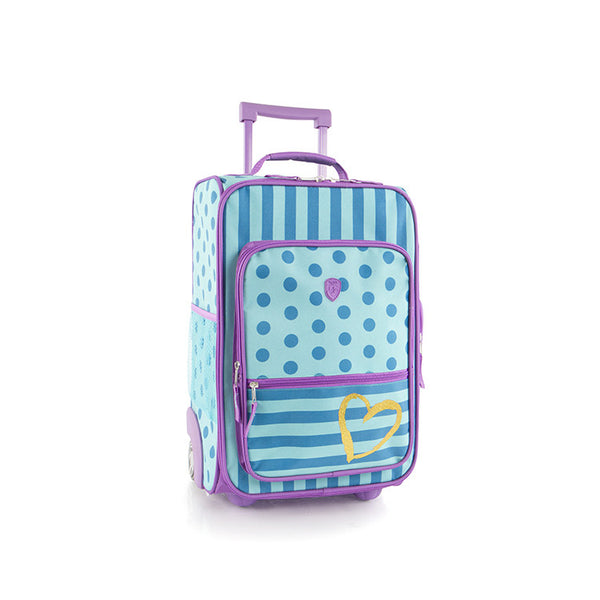 Kids Softside Luggage - Dots/Stripes (HEYS-UPRL-DOT-17)