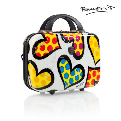 Britto - Hearts Carnival Beauty Case