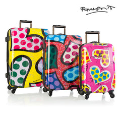 Britto - Hearts Carnival 3pc Set - The Art of Modern Luggage™