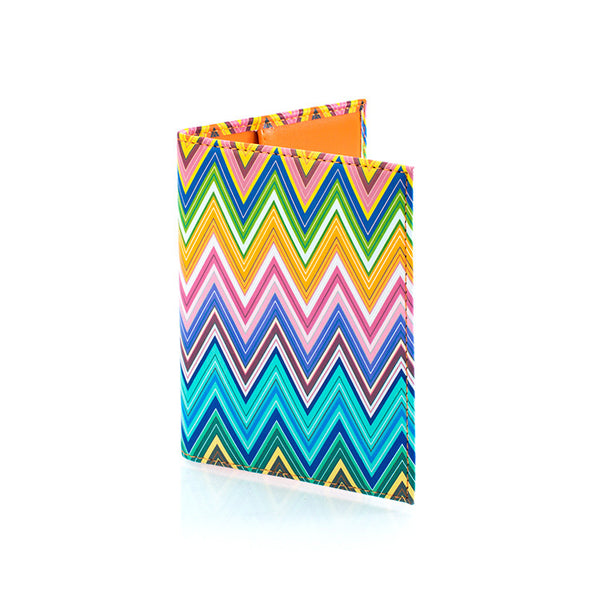 Colour Herringbone Passport Holder