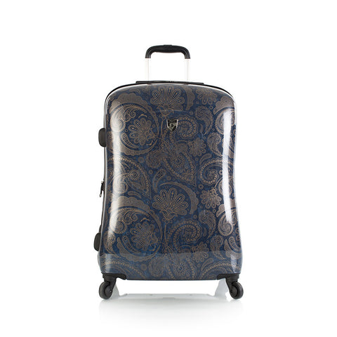 "Indigo Paisley 21"" Fashion Spinner™ Carry-on"