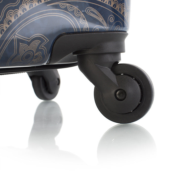 "Indigo Paisley 30"" Fashion Spinner™"