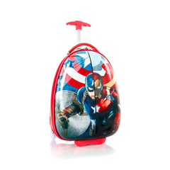 Marvel Captain America Kids Luggage - (M-HSRL-ES-CA02-16FA )