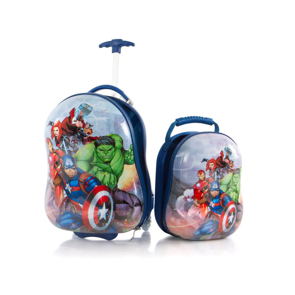 Marvel Kids Backpack and Luggage Set – Avengers - (M-HSRL-O-ST-A04-17AR)