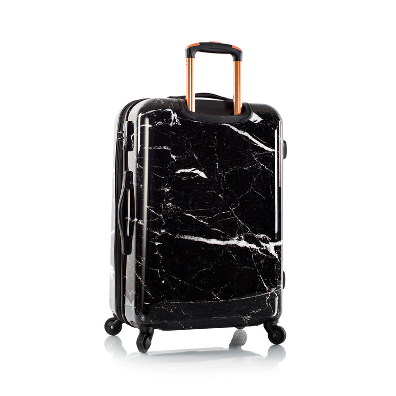 "Marquina - Black Marble 26"" Fashion Spinner™"