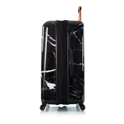 "Marquina - Black Marble 30"" Fashion Spinner™"