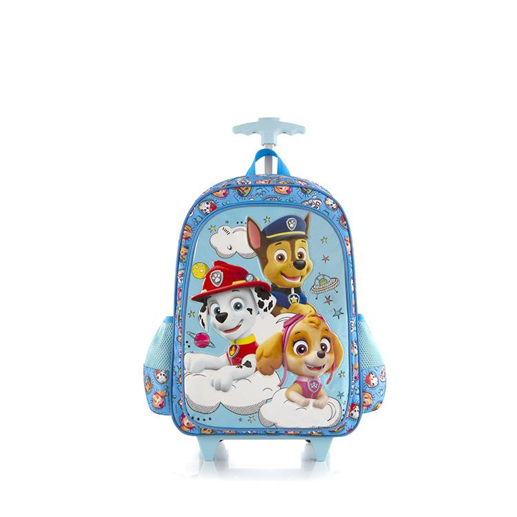 Nickelodeon Travel Luggage with Straps - PAW Patrol (NL-WCBP-PL11-18AR)