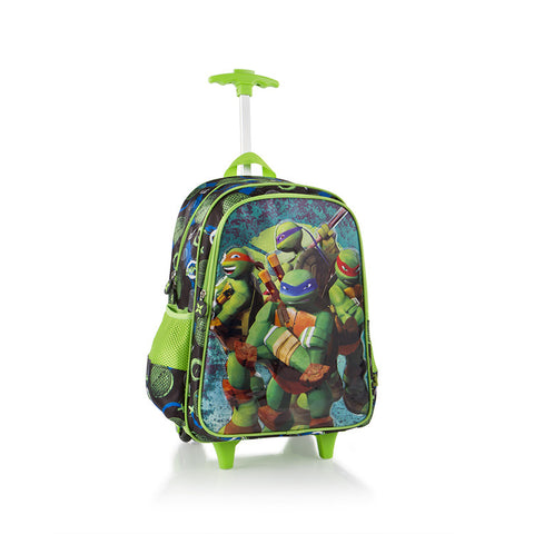 Nickelodeon Travel Luggage with Straps - Ninja Turtles (NL-WCBP-TT01-16FA)