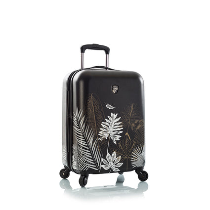 "Oasis Black/Gold Leaf 21"" Fashion Spinner™ Carry-on"
