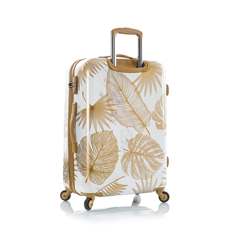 "Oasis White/Gold Leaf 26"" Fashion Spinner™"