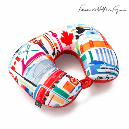 FVT - Canada 2-in-1 Travel Pillow