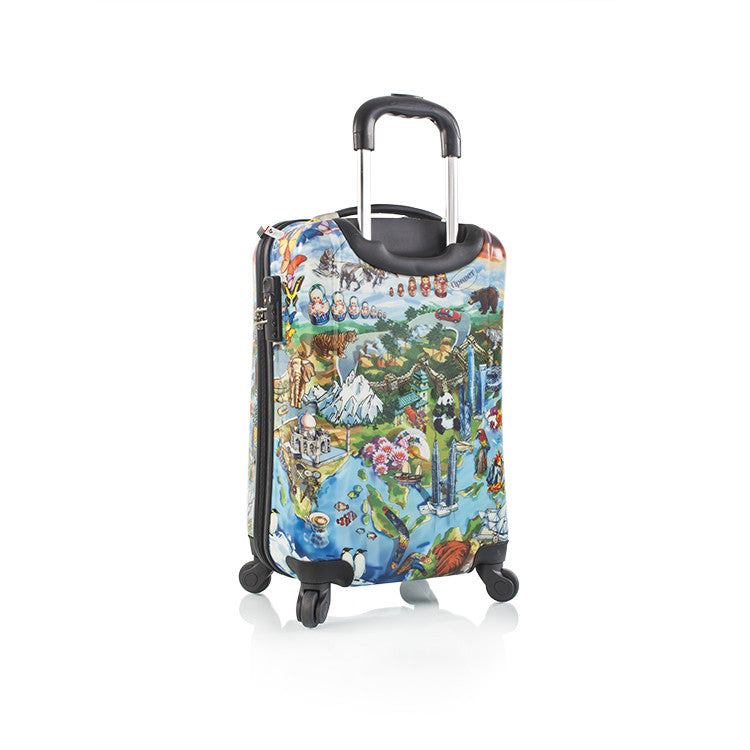 "It's a Small World 21"" Fashion Spinner™ Carry-on"