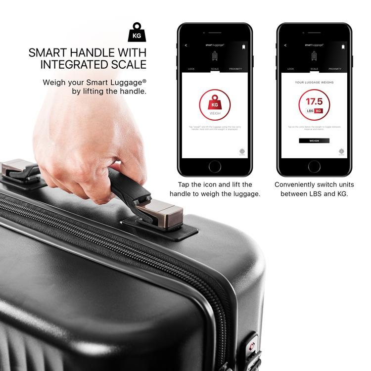 "Smart Luggage® 21"" Carry-on - Airline Approved"