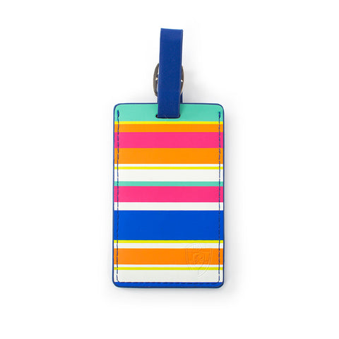 Stripes Luggage Tag