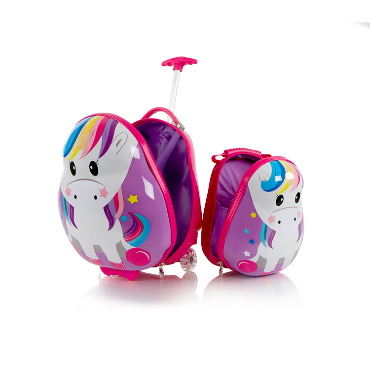 Travel Tots – Lightweight 2pc. Kids Luggage & Backpack Set