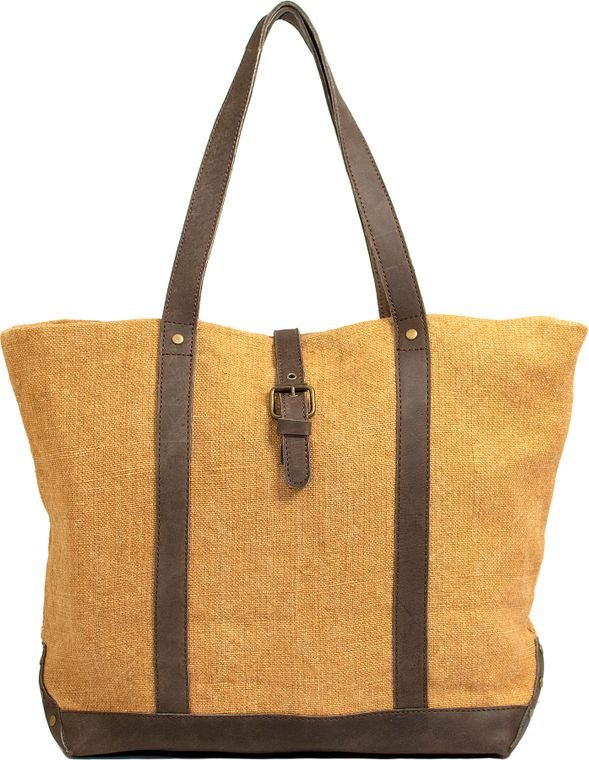 Almond Jute Shoulder Bag