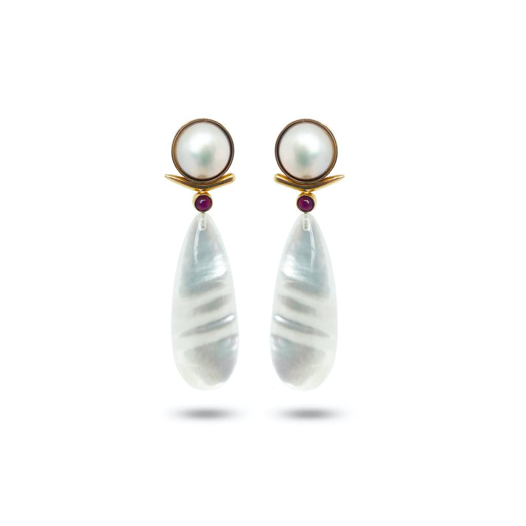 Pearl Jewelry Trend: Mabé All the Way