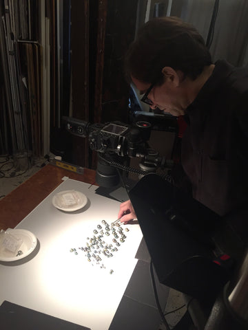 Ted Morrison shooting loose pearls for the CPAA supplement