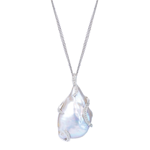 Baroque-pearl pendant necklace from Imperial Pearl