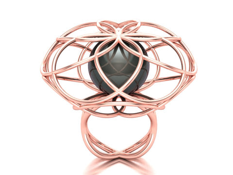 Mandala ring by Paul Klecka of Paul Klecka Inspired Design