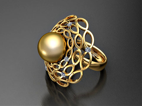 Matariki Rising ring by Paul Klecka of Paul Klecka Inspired Design