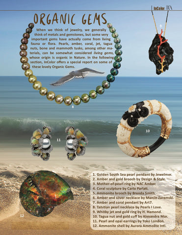 """The Pearl Jewelry Renaissance"" in InColor Magazine"