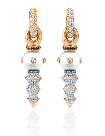 Giselle South Sea Pearl earrings from Rosa Van Parys of Rosa Van Parys Jewelry