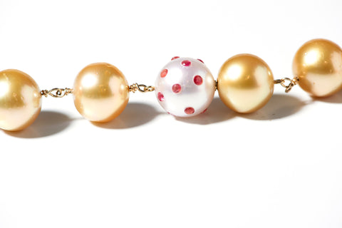 Judi McCormick has a Pearl Gemstone clasp with a pending international design patent.