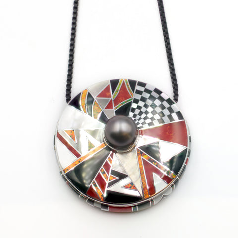 Power of Pearl pendant by Kelly Charveaux of Scottsdale Bead Supply & Charveaux