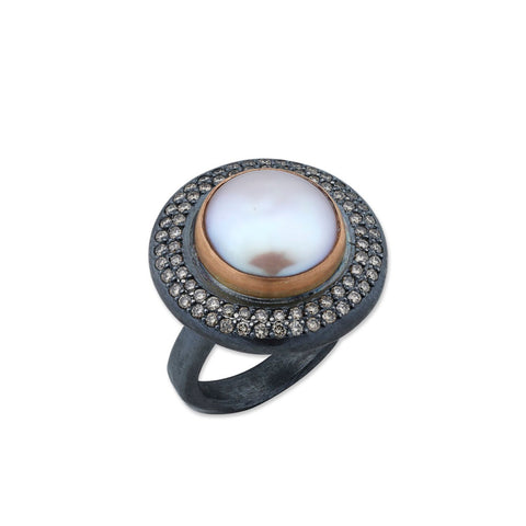 Lydia Lighthouse Beacon ring by Lika Behar of Lika Behar Jewelry