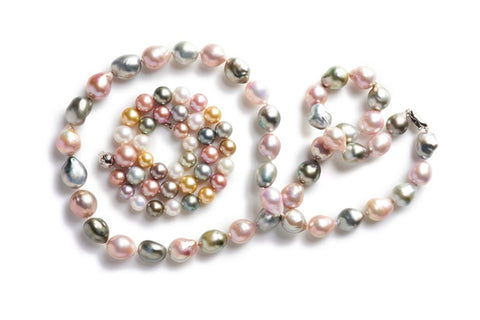 Freshwater pearls shot by Ted Morrison