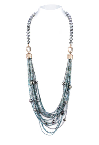 Convertible Ocean Diva necklace by Jennifer Pusenkoff of Jen Jewelry
