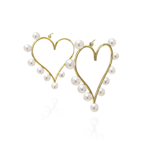 Diana's Love earrings by Alexis Mazza of LexiMazz Designs