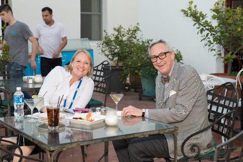 Rebecca Shukan (left), director of the Jewelry Career Readiness Initiative of the Diamond Council of America (part of Jewelers of America), and Terry Chandler, president of the Diamond Council of America
