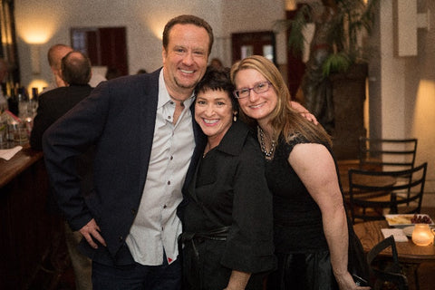 From left: Jeremy Shepherd, CPAA treasurer and CEO of PearlParadise.com; Blaire Beavers, pearl expert; and Jennifer Heebner, CPAA executive director