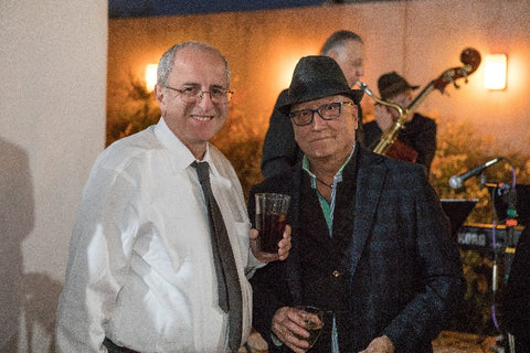 Aziz Basalely with Sonny Sethi, CPAA fundraising chairman and past president
