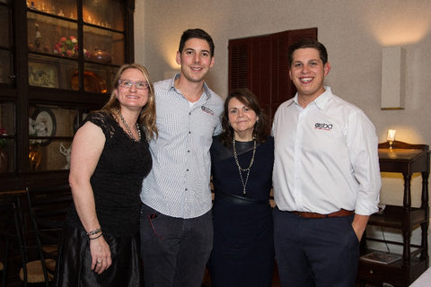 From left: CPAA's Jennifer Heebner; Joshua Israileff, CPAA member and vice president of operations at ASBA Pearls; Kathy Grenier, CPAA marketing director; and Nicolai Israileff, CPAA member and account executive at ASBA Pearls