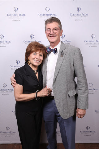 CPAA member Brenda Smith and spouse at the 2019 Pearl Soiree