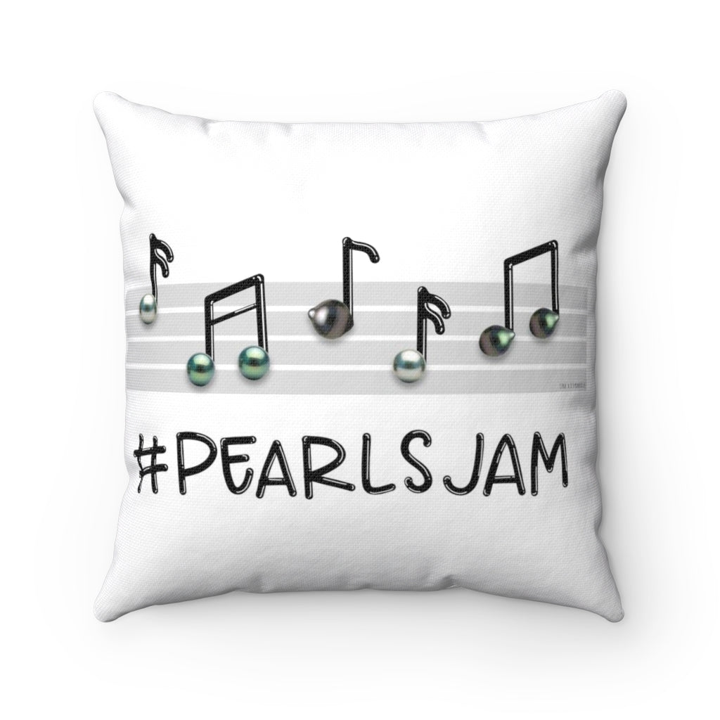 #PearlsJam @Diamondoodles Spun Polyester Square Pillow for CPAA