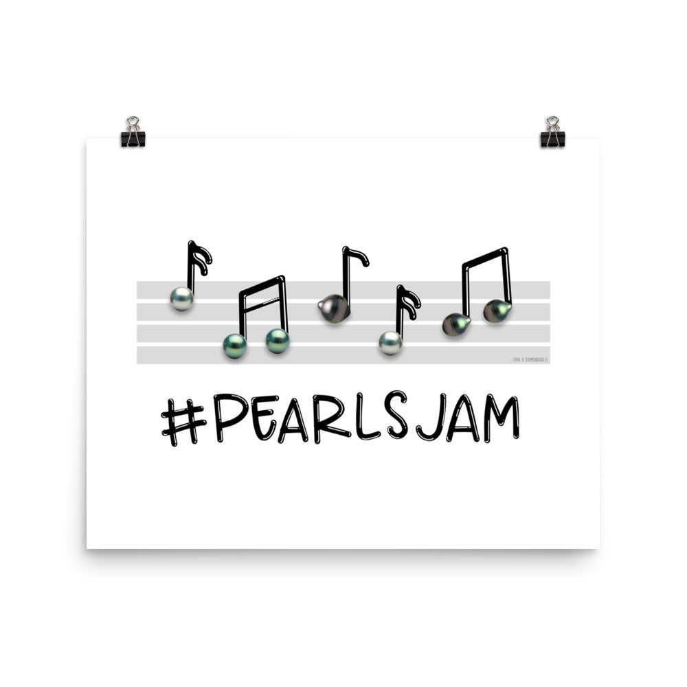 #PearlsJam Poster by @Diamondoodles for CPAA