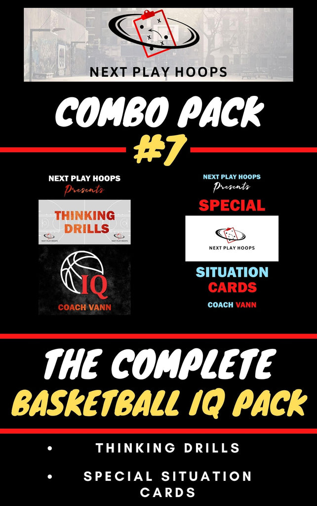 Combo Pack #7 (Basketball IQ Pack) - Next Play Hoops